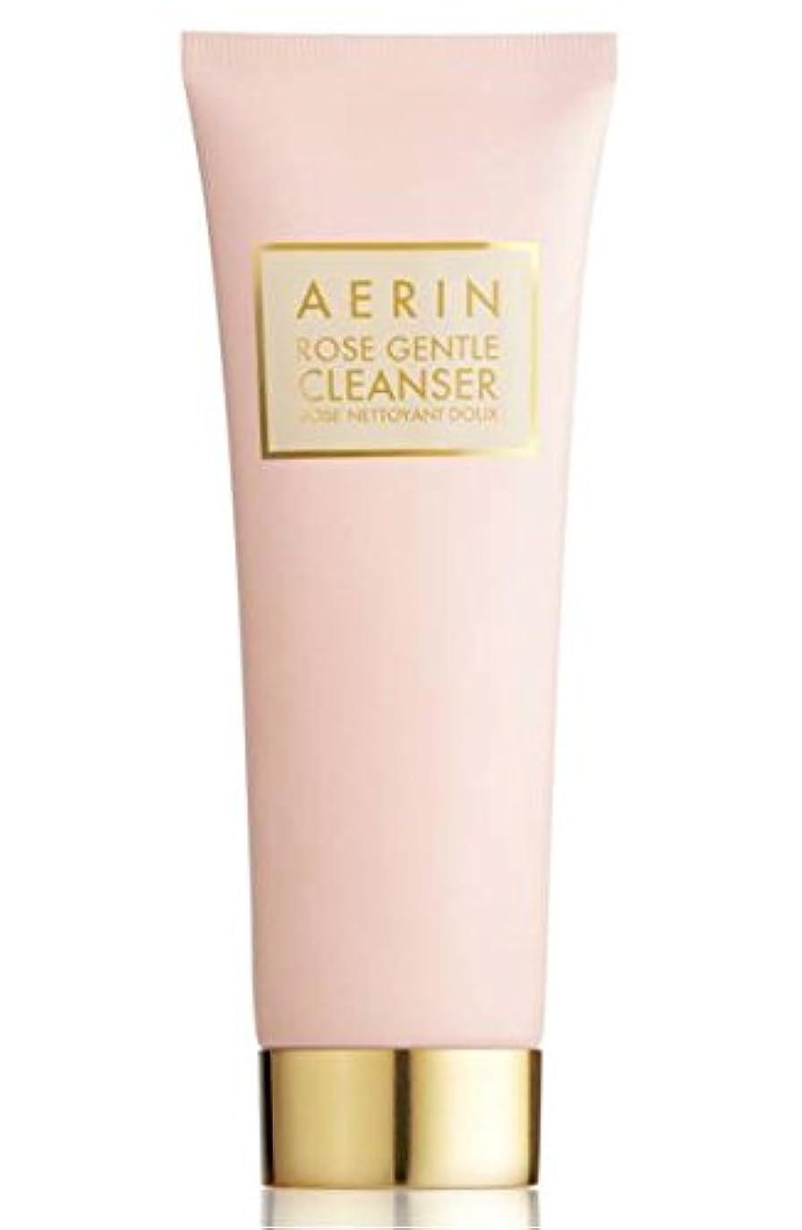 報酬自分の午後AERIN Rose Gentle Cleanser(アエリン ローズ ジェントル クレンザー) 4.2 oz (126ml) by Estee Lauder