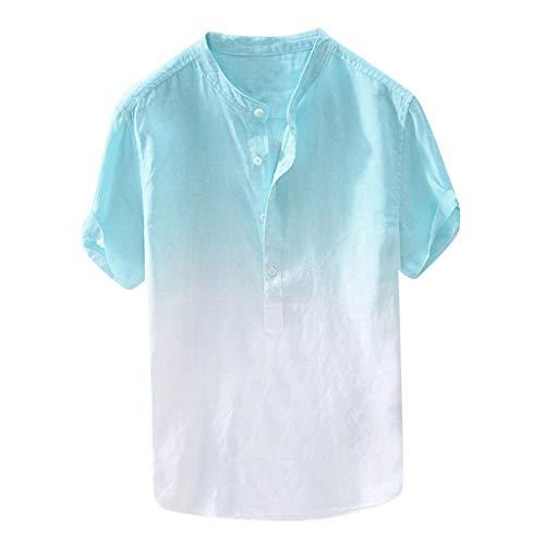 U.Expectating - Volleyball Pullover & Sweatshirts für Herren in Blau, Größe XXL
