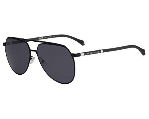Hugo Boss Herren BOSS 1130/S Sonnenbrille, Matte Black, 61