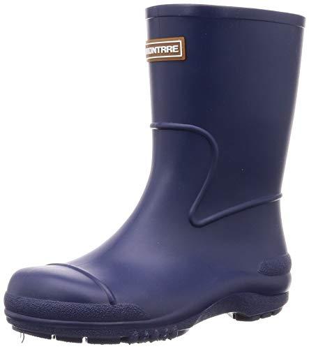 [アキレス] レインブーツ 長靴 軽量 日本製 14cm~21cm 2E キッズ 男の子 女の子 SCB 1070 ブルー 19.0 cm