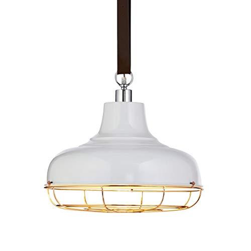 miaVILLA Deckenleuchte Ohira - Pendelleuchte Industrial Loft Style - Metall - Weiß