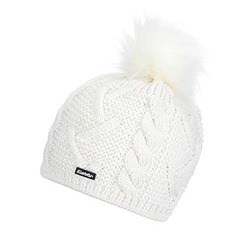 Eisbär Strickmütze Moana Lux MÜ weiß/weiß