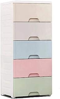 Sponsored Ad – 38CM bathroom storage drawer kitchen storage plastic drawer storage cabinet baby clothes storage box multi-...