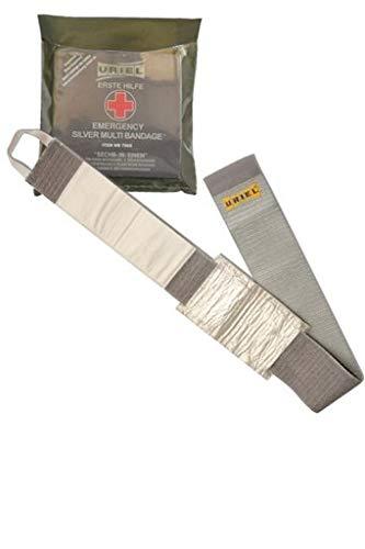 Uriel Notfall Silber Multi Bandage - NICHT STERIL - für Training