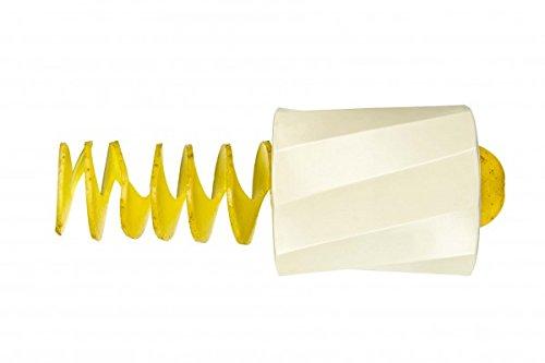Lurch 10319 Mini-Spirali, Spiralschneider für Obst und Gemüse aus Edelstahl und Kunststoff