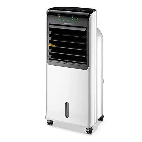 XPfj Air Cooler Enfriador de Aire, refrigerador evaporativo, 3 velocidades de Ventilador, Temporizador de 8 h, una Amplia Gama de Viento de Giro, Ahorro de energía, para el hogar y la Oficina.