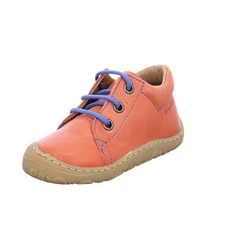 Froddo Kinder Halbschuh G2130191-2 Sneaker Freizeitschuh Lederschuh,Orange,24 EU