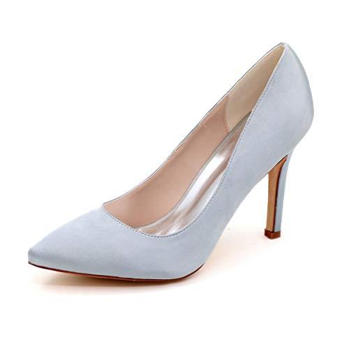 LGYKUMEG Mujer Zapatos de Tacón Zapatos Mujer Tacon Fiesta Sexy Clásico Stilettos High Heels Fiesta Boda para Mujer Tacones Altos 9.5cm,06,EU40