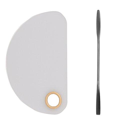 Toygogo Pro Cosmetic Make Up Acryl Palette Nagel Lidschatten Pudertöne Mischen Make Up Palette Mit...