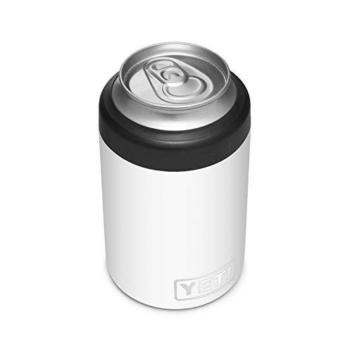 YETI Rambler Colster 2.0, Vacuum Insulated, Stainless Steel, White