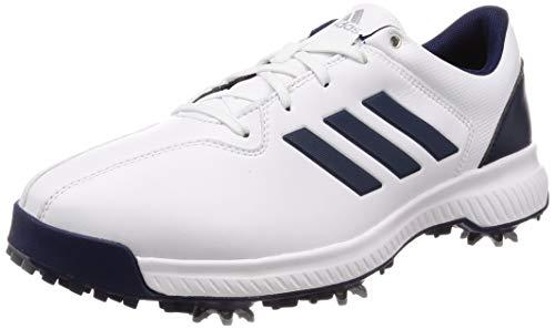 adidas Herren Cp Traxion Golfschuhe, Weiß (Azul/Blanco Bb7904), 40 EU