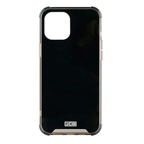 JCB Toughcase iPhone 12 Pro MAX 6.7 Pulgadas Negro y Ahumado a Prueba de Golpes Funda Protectora del teléfono móvil