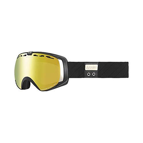 Cairn skibril Stratos mat zwart goud