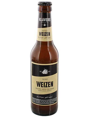 Klüvers - Weizen Bier 5,0% vol - 0,33l inkl. Pfand