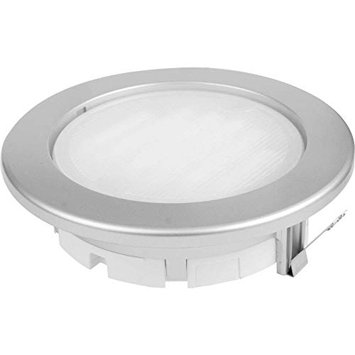 Preisvergleich Produktbild Megatron MT76350 Planex Einbauring Energiesparlampe GX53 9W Edelstahl (gebürstet)
