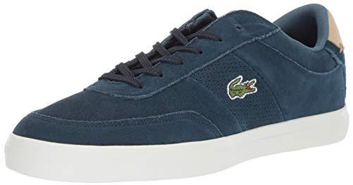 Lacoste Court-Master - Zapatillas para Hombre, Azul Marino/Natural, 13 M US