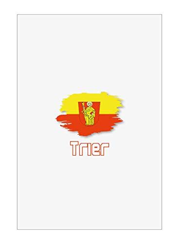 Tipolitografia Ghisleri Handtuch, Strandtuch, Handtuch Trier mit Flagge 43