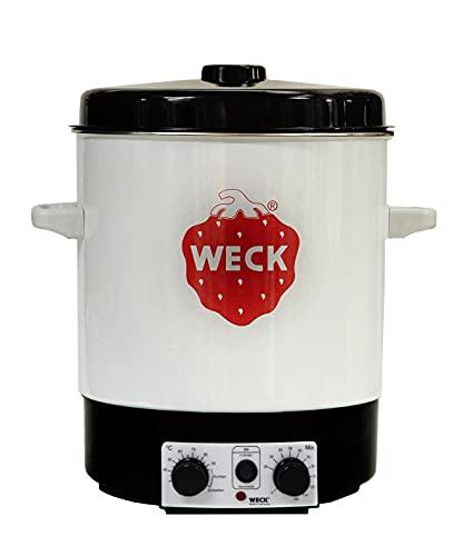 WECK Einkochautomat WAT 15 (Einkochtopf emailliert, mit Thermostat, mit Zeitschaltuhr, 29 Liter) 6830