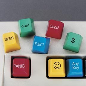 Novelty Computer Key Caps (8)