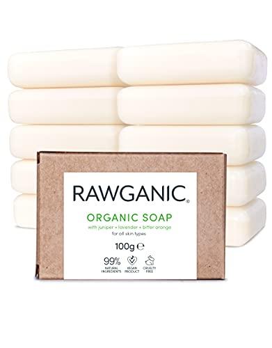 RAWGANIC Savon Bio Hydratant Mains et Corps |...