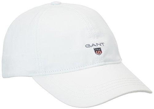 Gant Twill Cap, Gorra De Béisbol Para Hombre, Blanco (White), Talla única