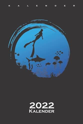 Freitauchen mit einem Atemzug im Ozean...