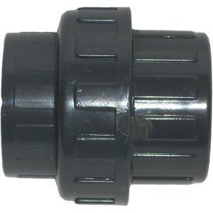 PISCINEO Union démontable PVC 1'' 1/2 Femelle d'un côté et diam. 50 de l'autre