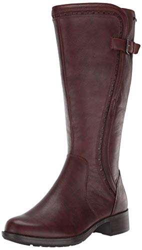 Rockport Women's Copley Tall Bt Knee High Boot, Brown, 8 W US