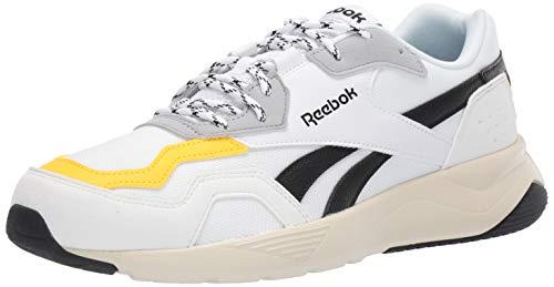 Reebok Royal Dashonic 2 Running Shoe, White/Black/Yellow/Grey, 11 M US