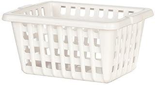 Melody Jane Dollhouse White Washing Basket Laundry Kitchen Garden Accessory