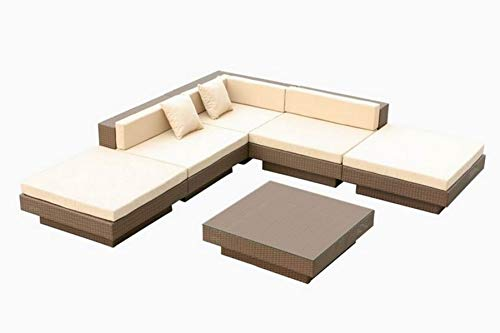 Luxus- Poly-Rattan-Garnitur 1013TP
