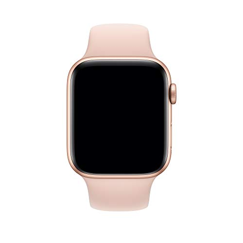 Apple Watch (44mm) Sportarmband, sandrosa - S/M und M/L