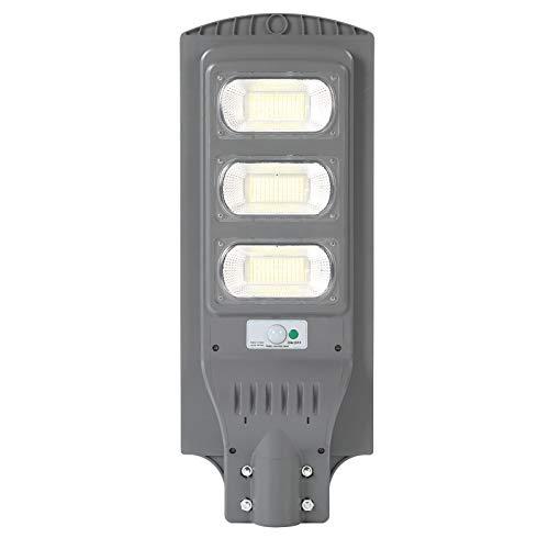 Luces solares al aire libre, 6500K-7000K 150W 351 Lámpara LED, Inalámbrico IP66 Luz de inundación solar impermeable, Sensor de movimiento de seguridad Luz al aire libre para cubierta, cerca, patio, pu