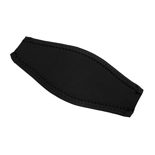 Neopren Maskenband - Tauchen Schnorchel Maske Gepolstert Neopren Abdeckung - Schwarz