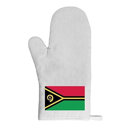 Mygoodprice Ofenhandschuh Topflappen Flagge Vanuatu