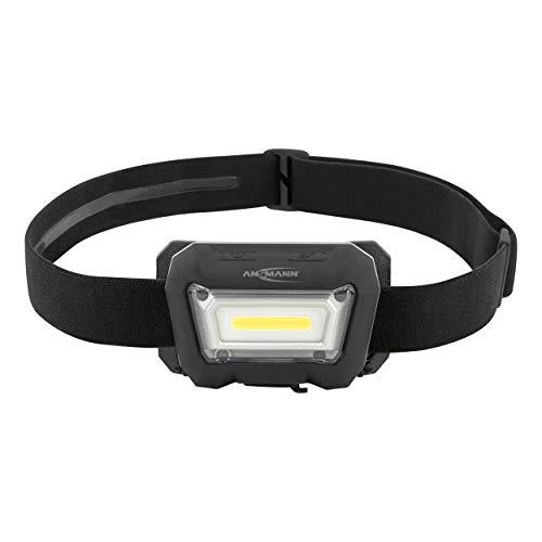 ANSMANN HD280RS Kopflampe, Kunststoff, Schwarz