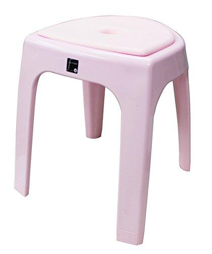 トンボ フロート 風呂椅子 高さ 40cm クッション付 ピンク N40