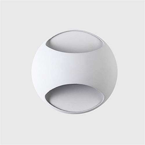 Lampade da parete a led Soggiorno Lampade bianche Applique da parete per interni Luci cromatiche per camera con illuminazione a specchio