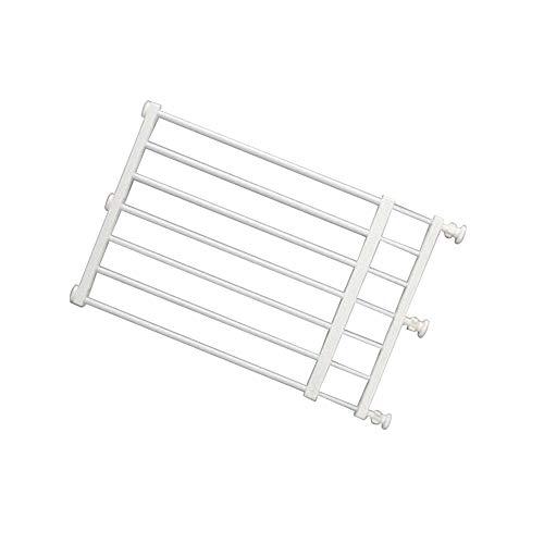 XIAOYAN- 36 cm in plastica ABS scalabile for Porte di Sicurezza for Bambini ad Alta portone for Porte Interne e Scale (Color : White, Size : 50-100CM)
