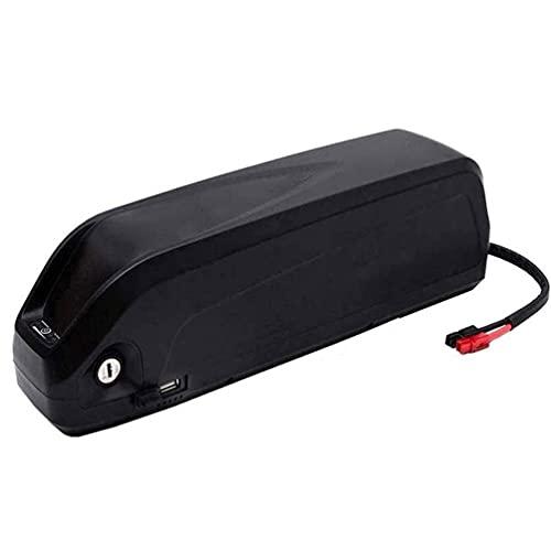N&I Batería de ion de litio para bicicleta eléctrica de 48 V, con cargador, puerto USB, bloqueo seguro, batería de litio BMS 48 V13 Ah