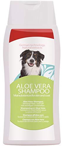 PetSol Sensible Aloe Vera Anti inflamatorio champú medicado para los Perros - Fresco, Suave y Segura fórmula diseñada específicamente para la Piel Sensible. Seda, Hidrata y cuida de Coat (250 ml)