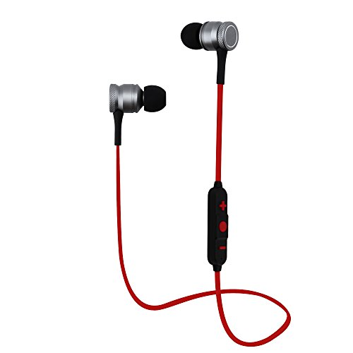 Yigenet Cuffie senza fili V4.1 Auricolare Bluetooth Hifi Stereo Auricolari Magnetici Sweatproof In-Ear Earbuds con Mic Built-in per Sport