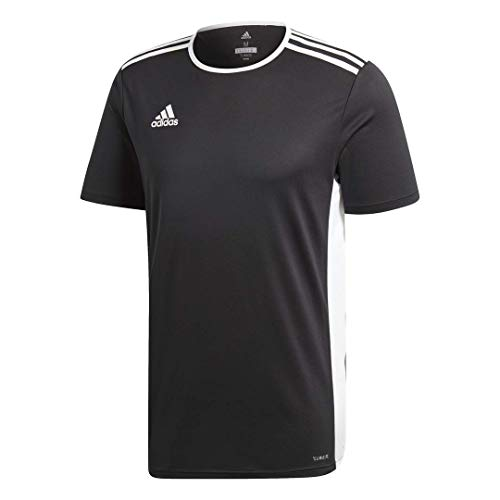 adidas Men's Entrada 18 Jersey, Black/White, X-Large
