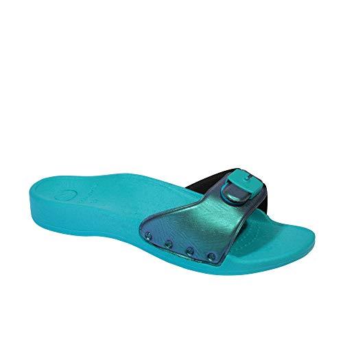 Scholl Chanclas de Playa scholl Sun Azul Claro 41