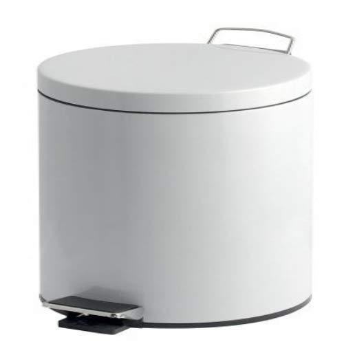V-Part Poubelle À Pédale - 30 litres - Blanc