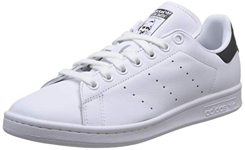 adidas Mens Stan Smith Sneakers, White, 44 2/3 EU