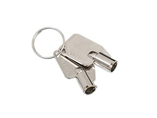 Fujitsu Schlüssel (2 Stück) für QNAP HDD Tray für QNAP TVS-1271U-RP