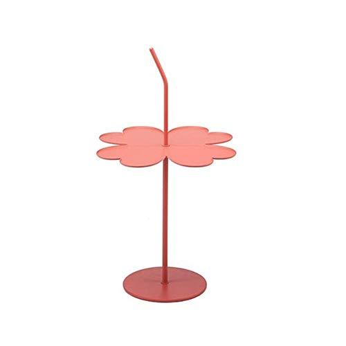 Salontafel van metaal, draagbaar, multifunctioneel, voor kantoor, slaapkamer, hotel, restaurant, tafel, hoeken, bijzettafel