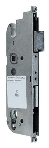 GU Secury Reparatur Schlosskasten Hauptschloss 6-32006-01-0-1 oder auch K-20046-FF-0-1, Dornmaß: 45mm (42,5mm) / Entfernung: 92mm, incl. SN-TEC® Montagematerial & SN-TEC® Montageanleitung