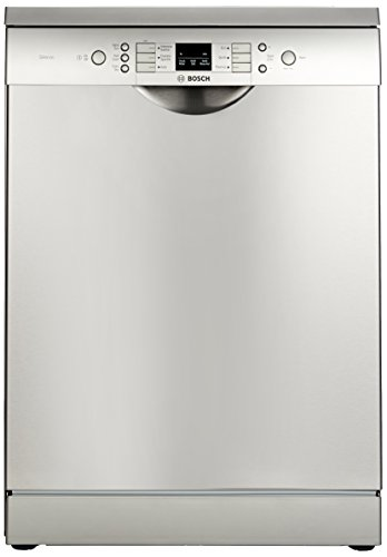 Bosch Free-Standing 12 Place Settings Dishwasher (SMS60L18IN, Silver Inox)